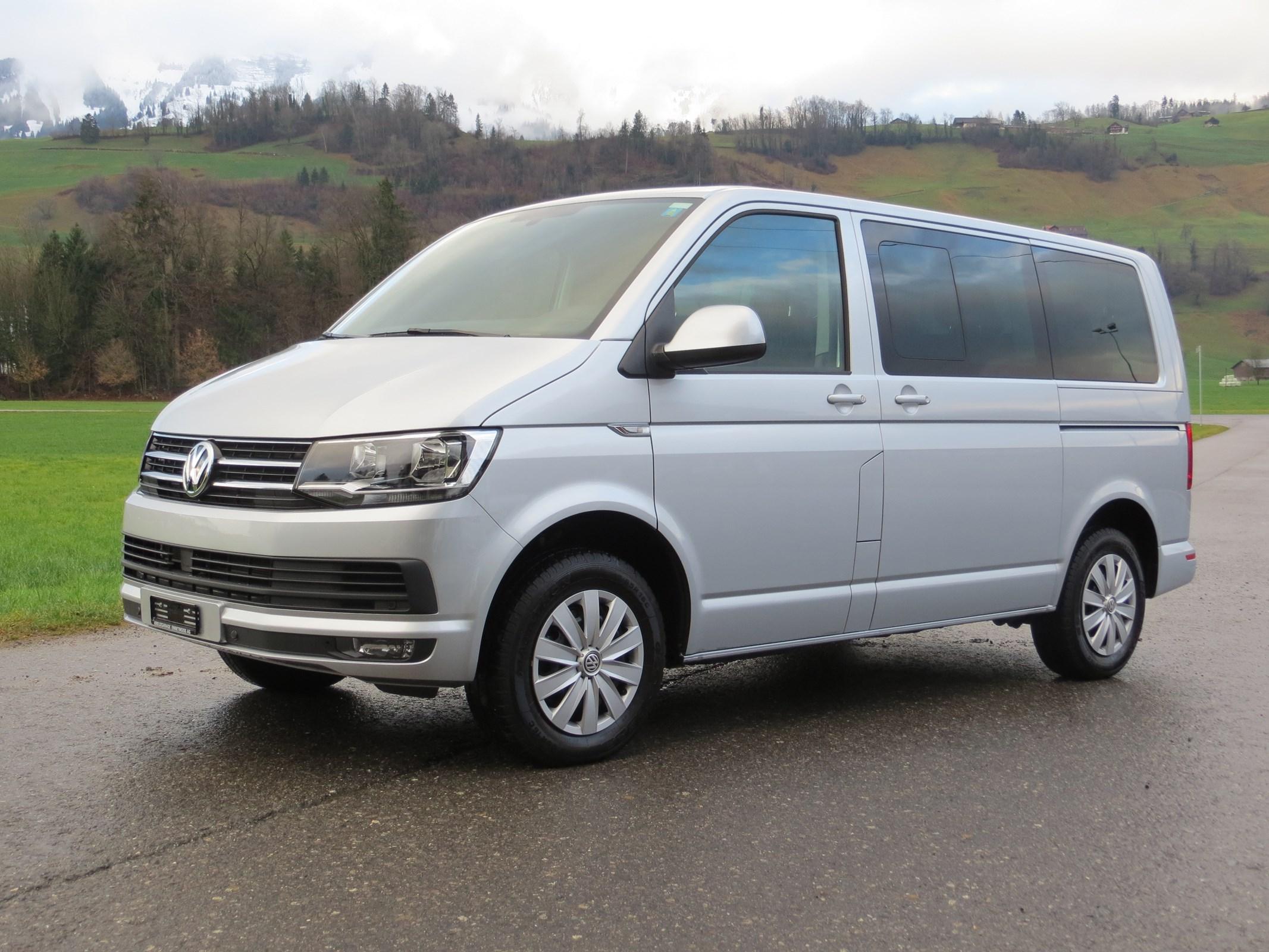 "bus VW T6 Caravelle 2.0 TDI Comfortline DSG ""kurzer Radstand"""