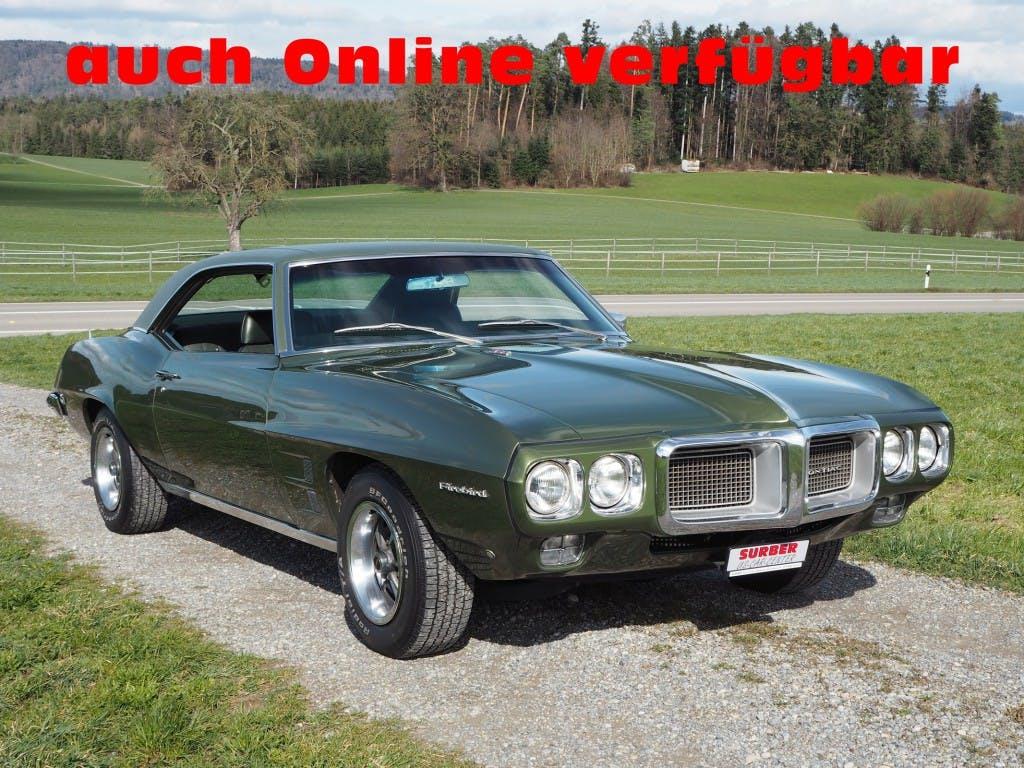 coupe Pontiac Firebird Coupe V8