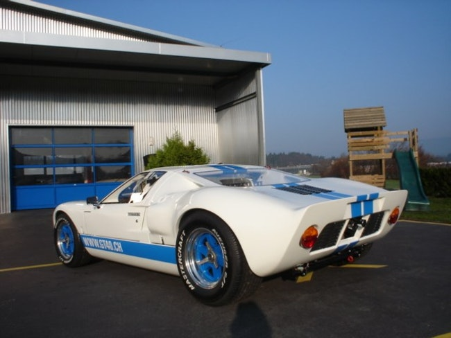 coupe Ford GT 40 Tornado