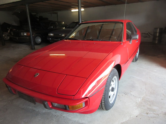 coupe Porsche 924 2.0