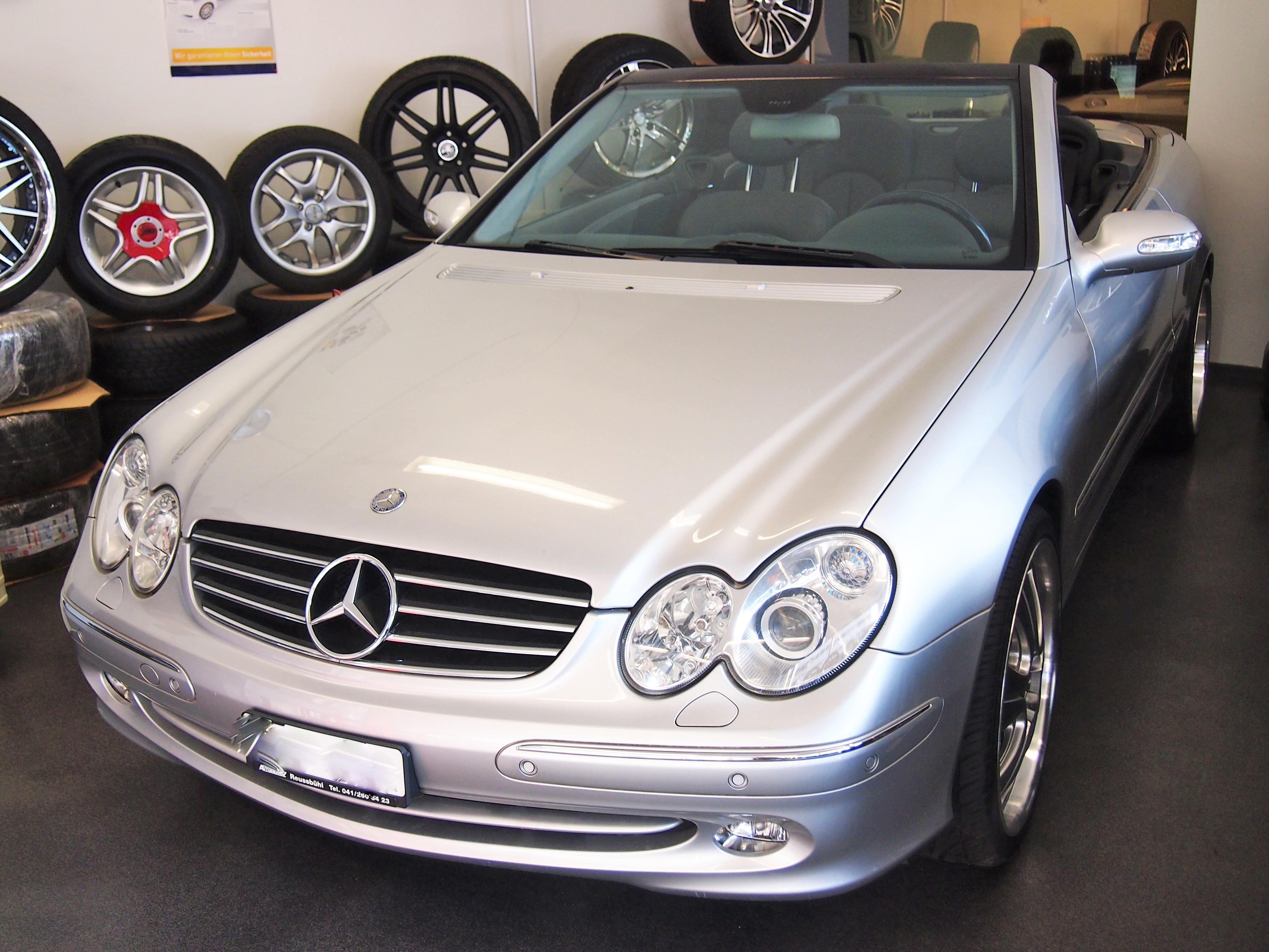 cabriolet Mercedes-Benz CLK 500 Avantgarde Automatic