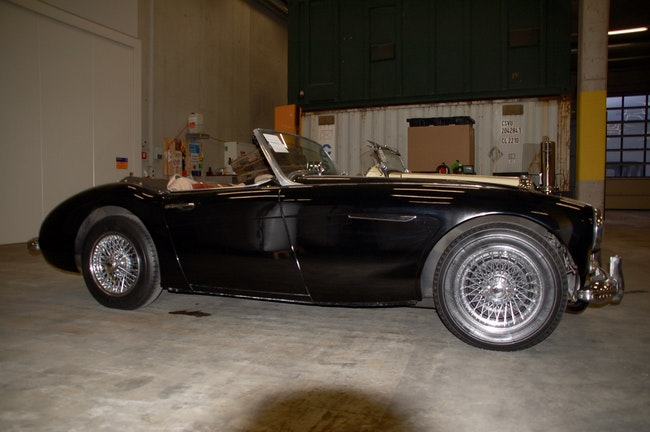 cabriolet Austin Healey 100/6 BN4