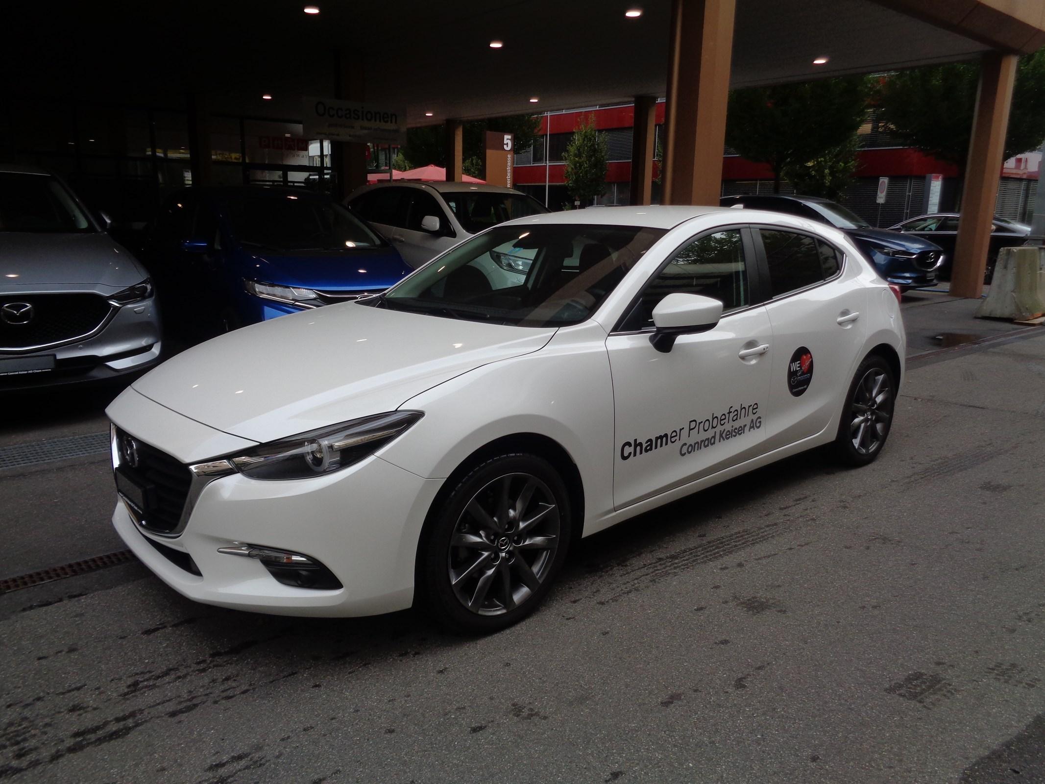 saloon Mazda 3 SKYACTIV-G 120 Ambition Plus