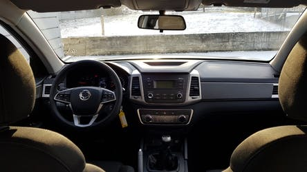 SsangYong Musso 2.2 Crystal 4WD 5 km CHF28'900 - acheter sur carforyou.ch - 2
