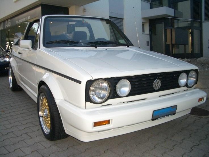 cabriolet VW Golf Cabriolet 1800 Fashion-Line/Young-Line