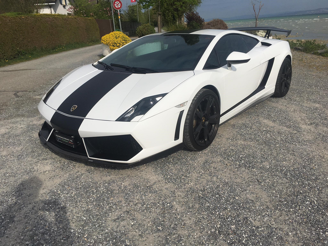 sportscar Lamborghini Gallardo Coupé 5.2 E-Gear