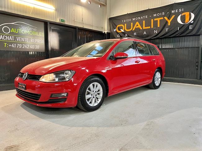 estate VW Golf 7 1.6 TDI - Rabais taxe plaque -75% + expertise du jour + garantie 12 mois