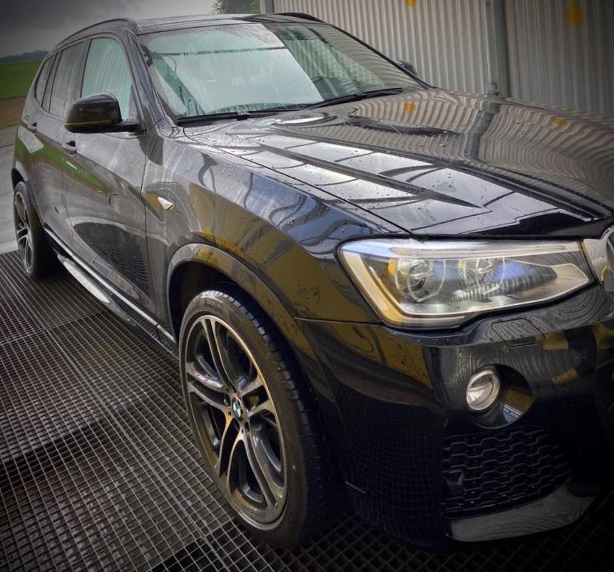 Buy Used Car SUV BMW X3 F25 30d XDrive 155000 Km At 26900