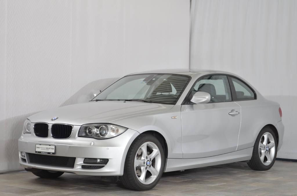 coupe BMW 1er 120i