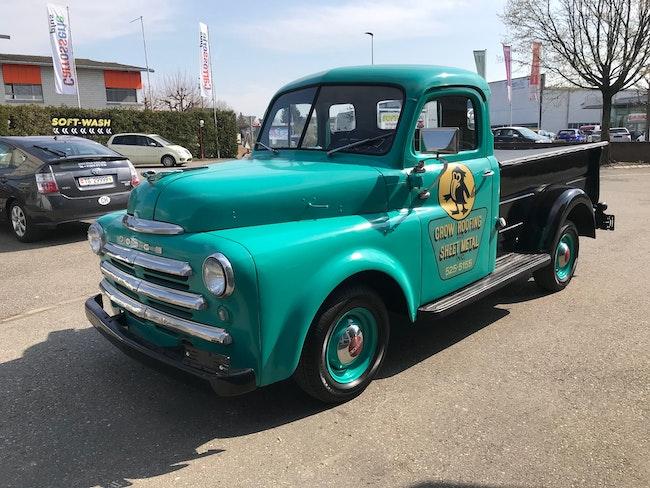 Dodge USA other 1950 DODGE Adventurer Pick Up - 7 Fenster - 3.7L 6 Zyl. - SEHR SELTEN 77'500 km CHF39'990 - kaufen auf carforyou.ch - 1