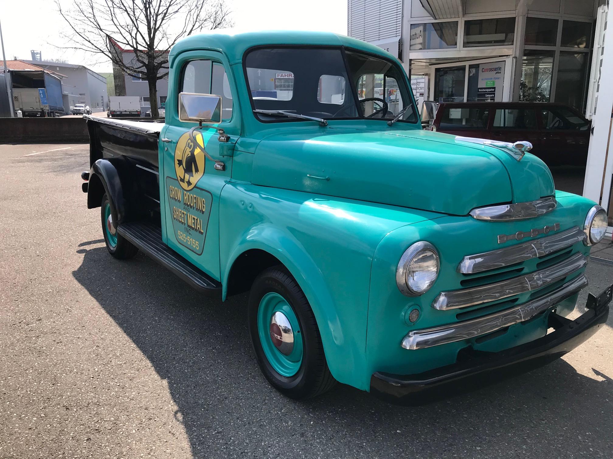 pickup Dodge USA other 1950 DODGE Adventurer Pick Up - 7 Fenster - 3.7L 6 Zyl. - SEHR SELTEN