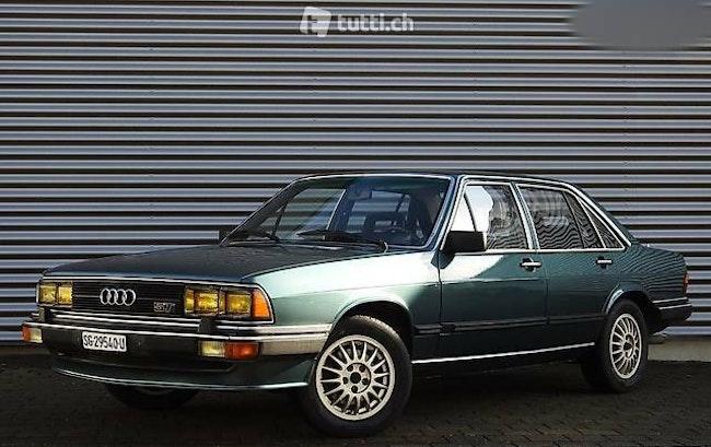 saloon Audi 200 Turbo 5E 145'000km 12.1981