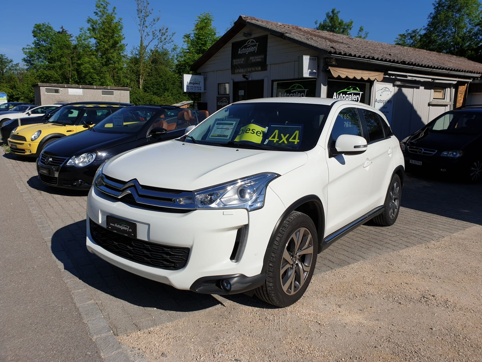 suv Citroën C4 Aircross 1.8 HDi 150 Exclusive 4WD S/S