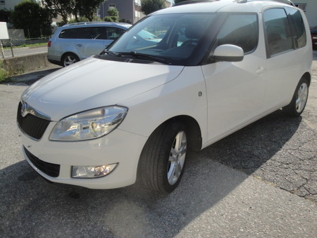 van Skoda Roomster 1.2 TDI CR Ambition