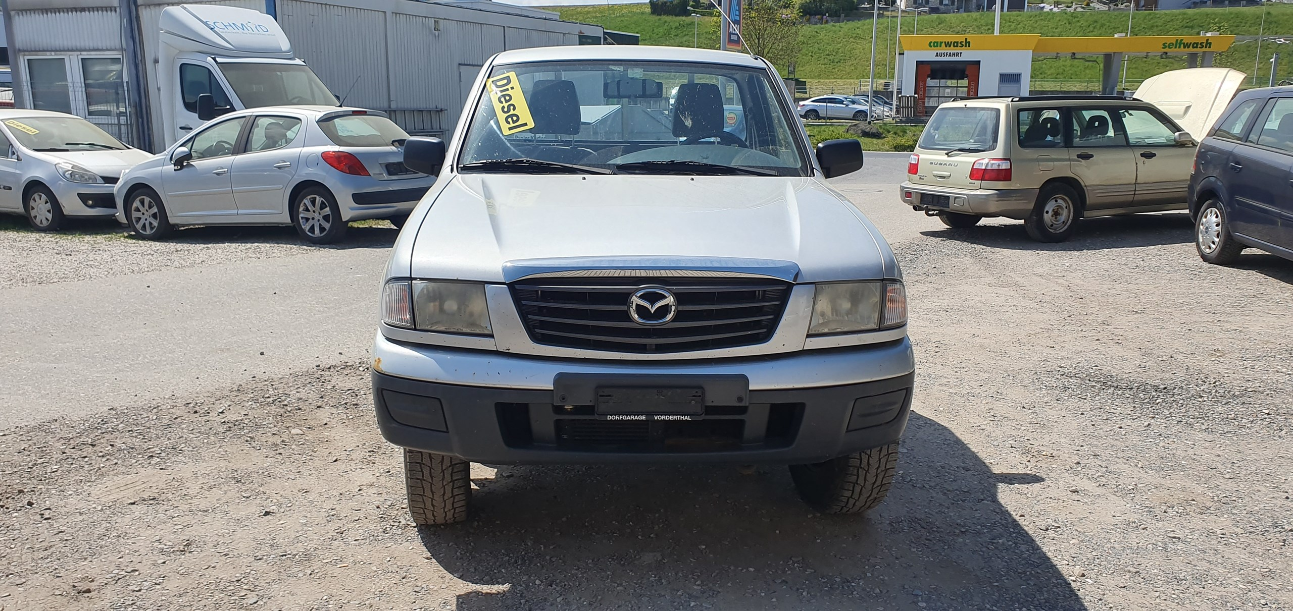 suv Mazda B2500 B 2500TD 4x4 Single Cab.Storm
