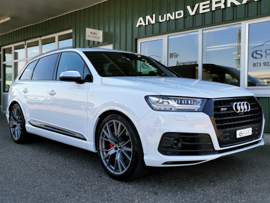 suv Audi SQ7 4.0 TDI quattro