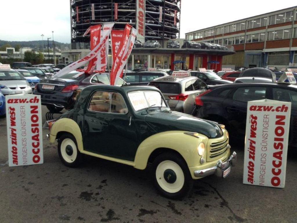 cabriolet Fiat 500 C Topolino Cabrio Veteran Oldtimer