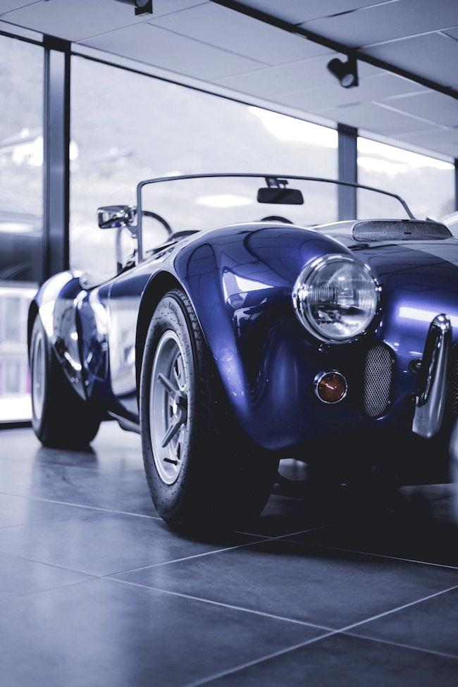 cabriolet AC Cobra MK 4 CRS