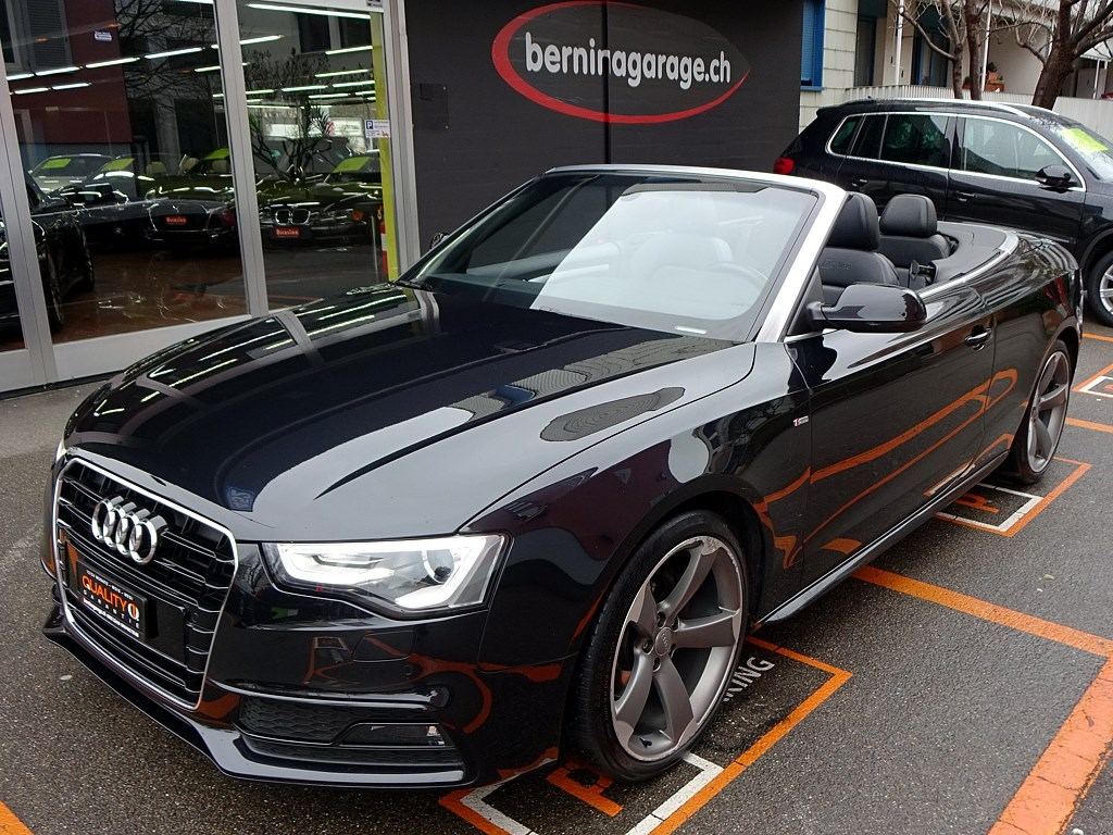 Buy Used Car Convertible Audi A5 Cabriolet 1 8 Tfsi S Line 117500 Km At 19500 Chf On Carforyou Ch