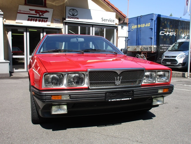 saloon Maserati Biturbo 2.5 ES