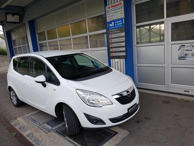 van Opel Meriva 1.4T