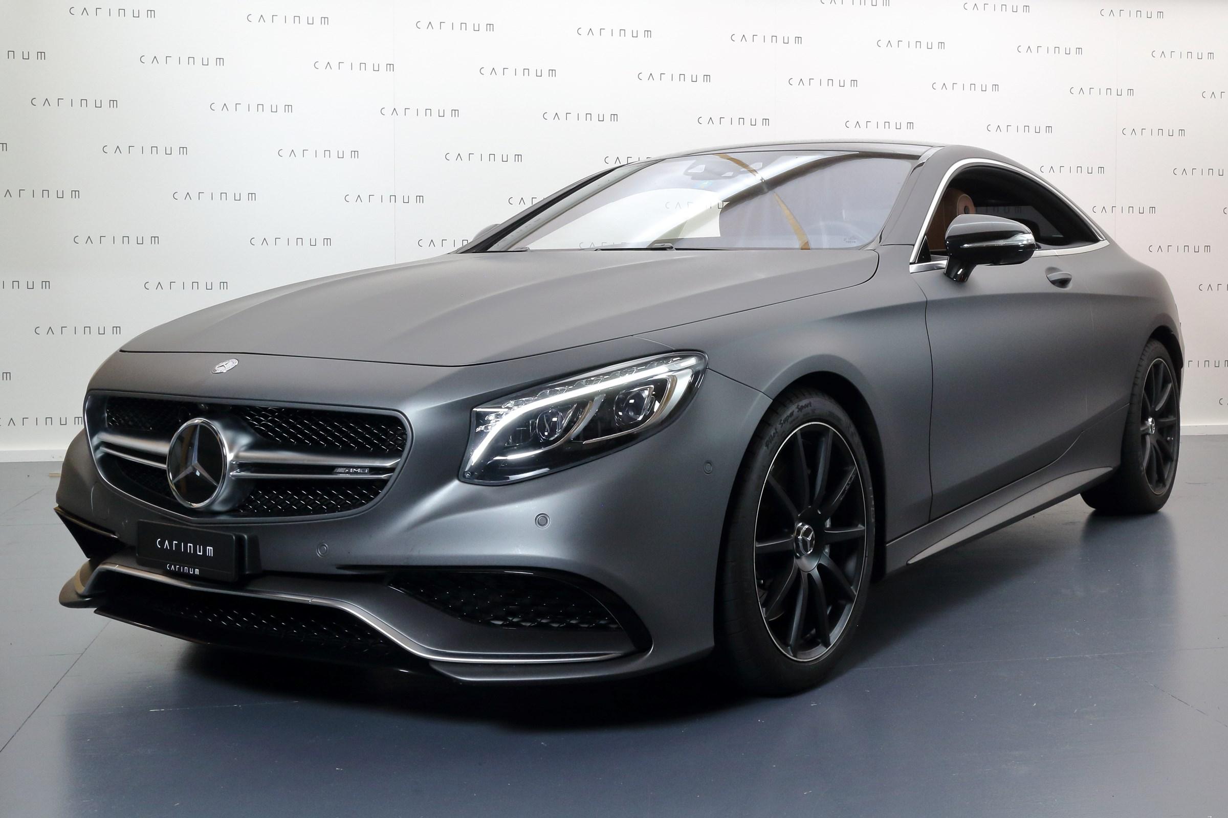 coupe Mercedes-Benz S-Klasse S 63 AMG Coupé 4Matic Speedshift MCT