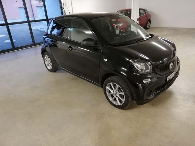 saloon Smart Forfour citypassion twinmatic