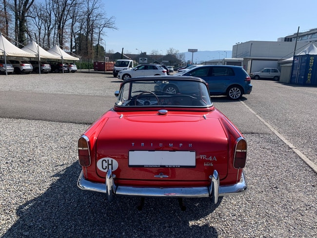 cabriolet Triumph TR4 A