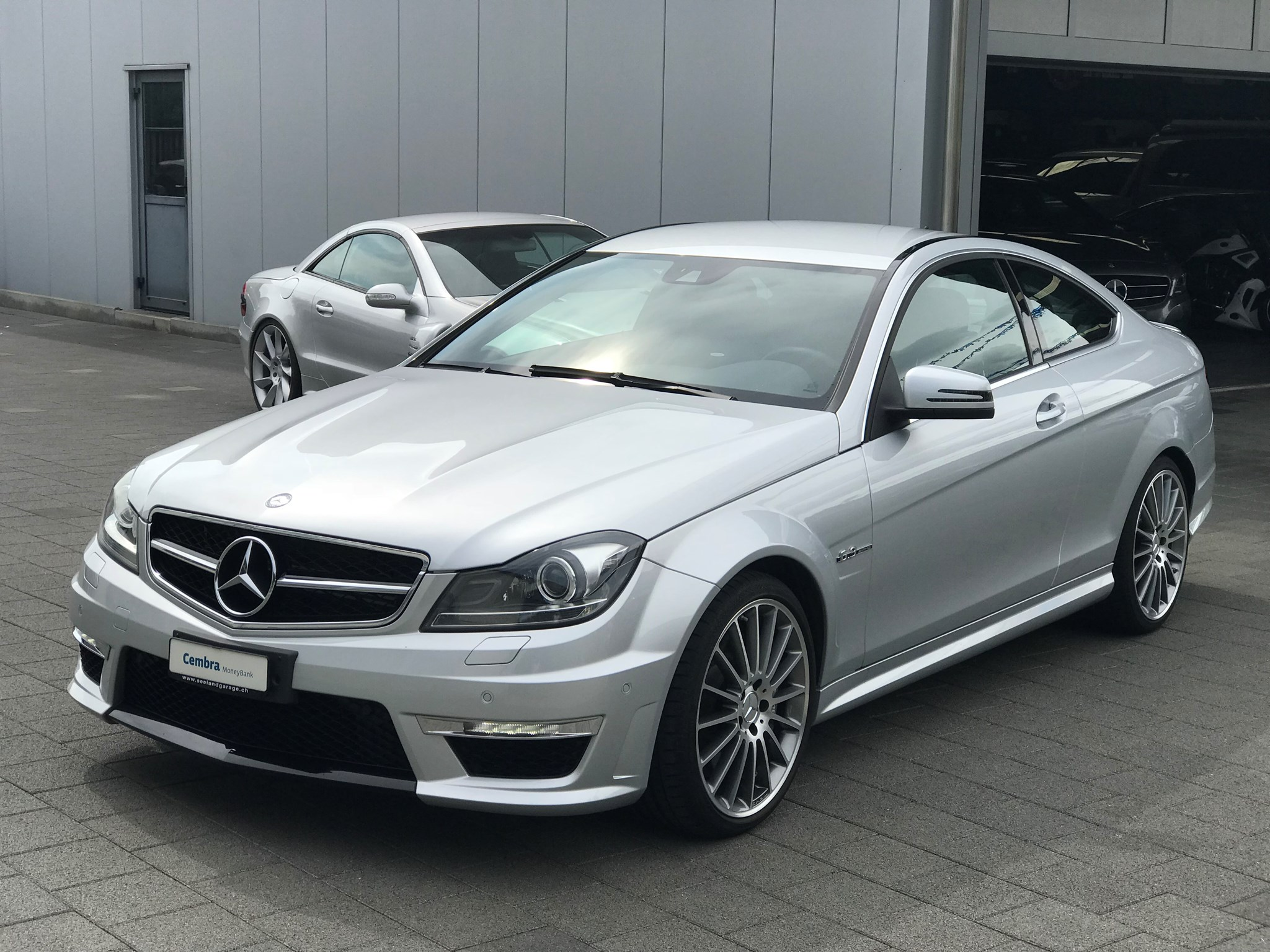 coupe Mercedes-Benz C-Klasse C 63 AMG C 63 Coupé AMG Speedshift MCT