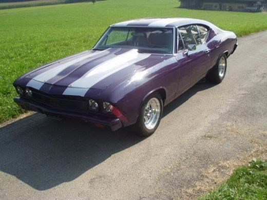 coupe Chevrolet Chevelle SS 454