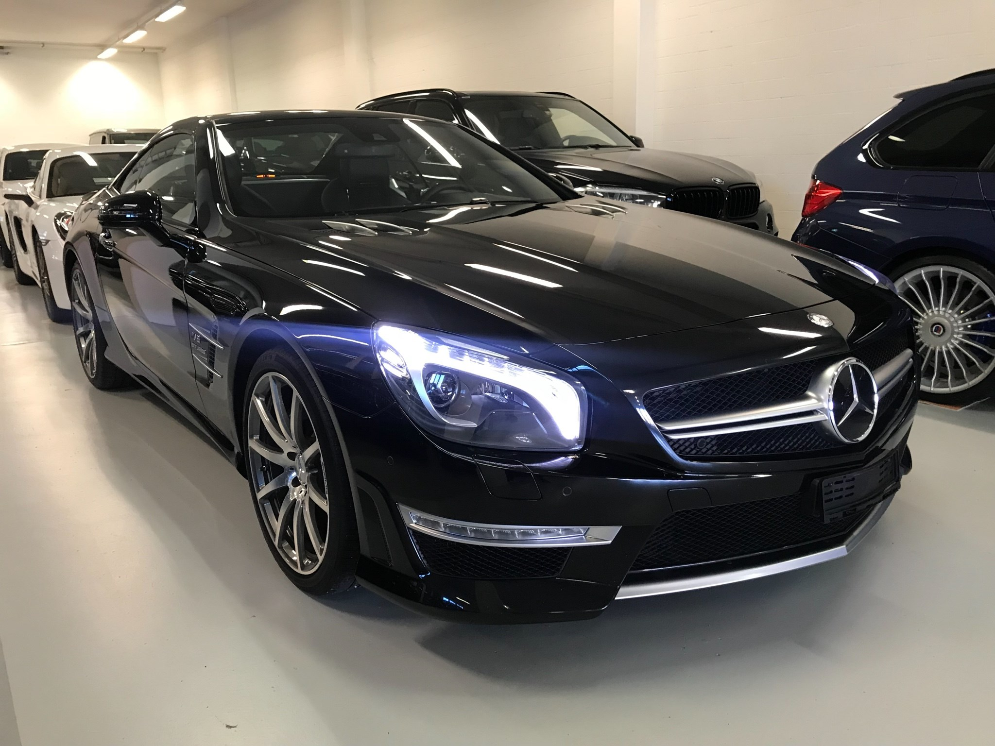 cabriolet Mercedes-Benz SL 63 AMG Speedshift