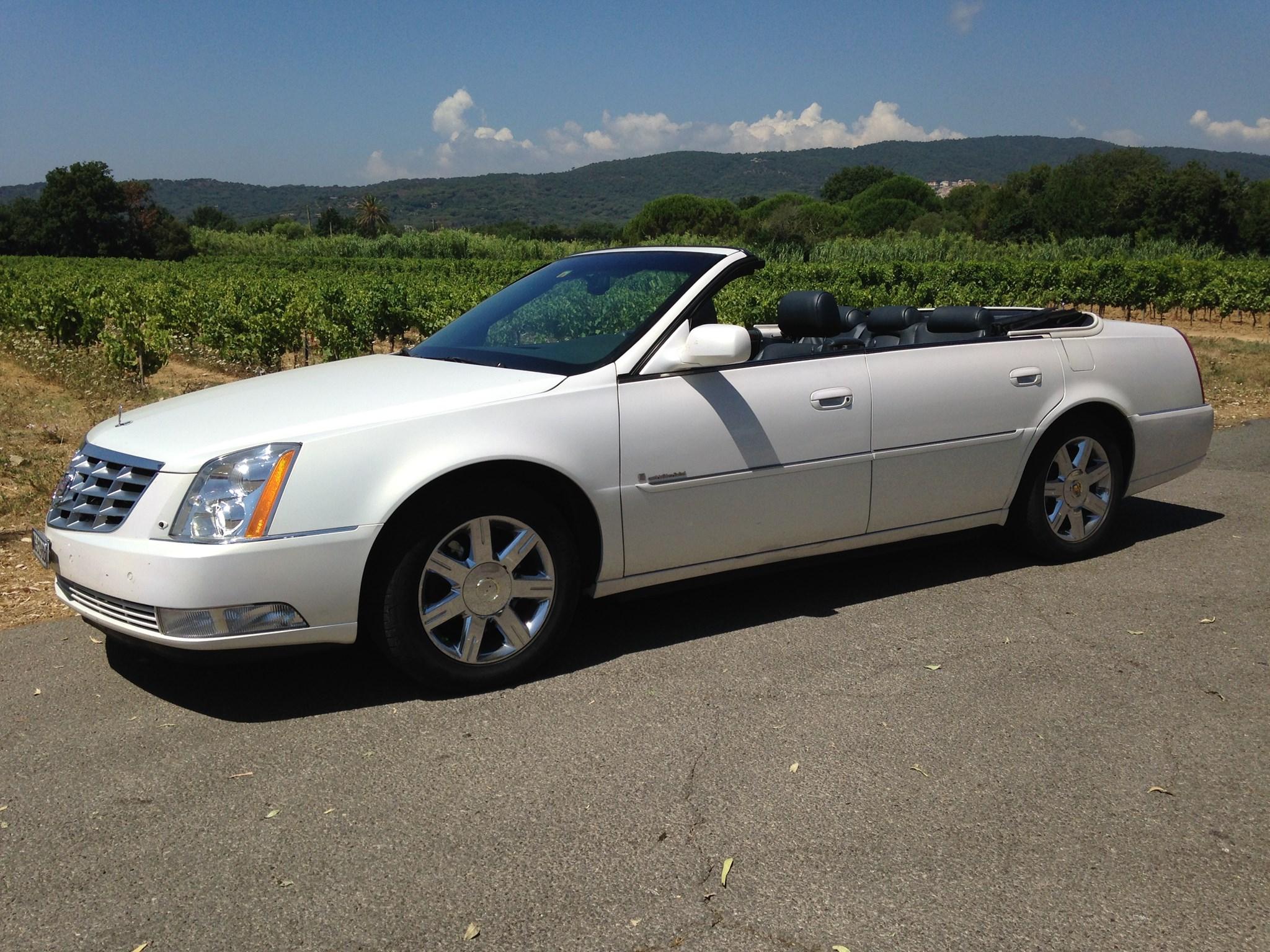 cabriolet Cadillac DTS 4-türiges Cabriolet (sehr selten!)