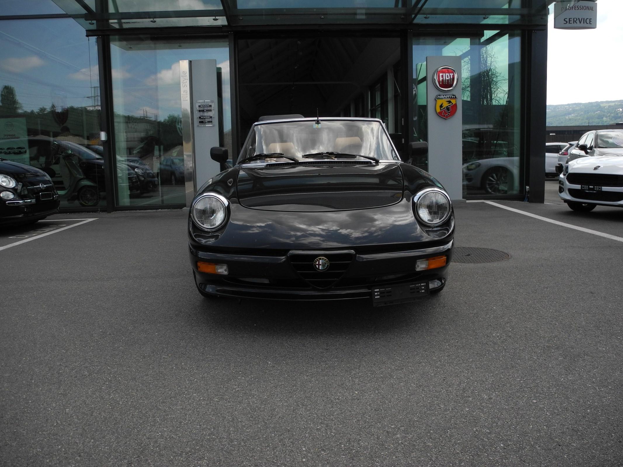 cabriolet Alfa Romeo Spider 2.0 Q.Verder (Cabriolet)