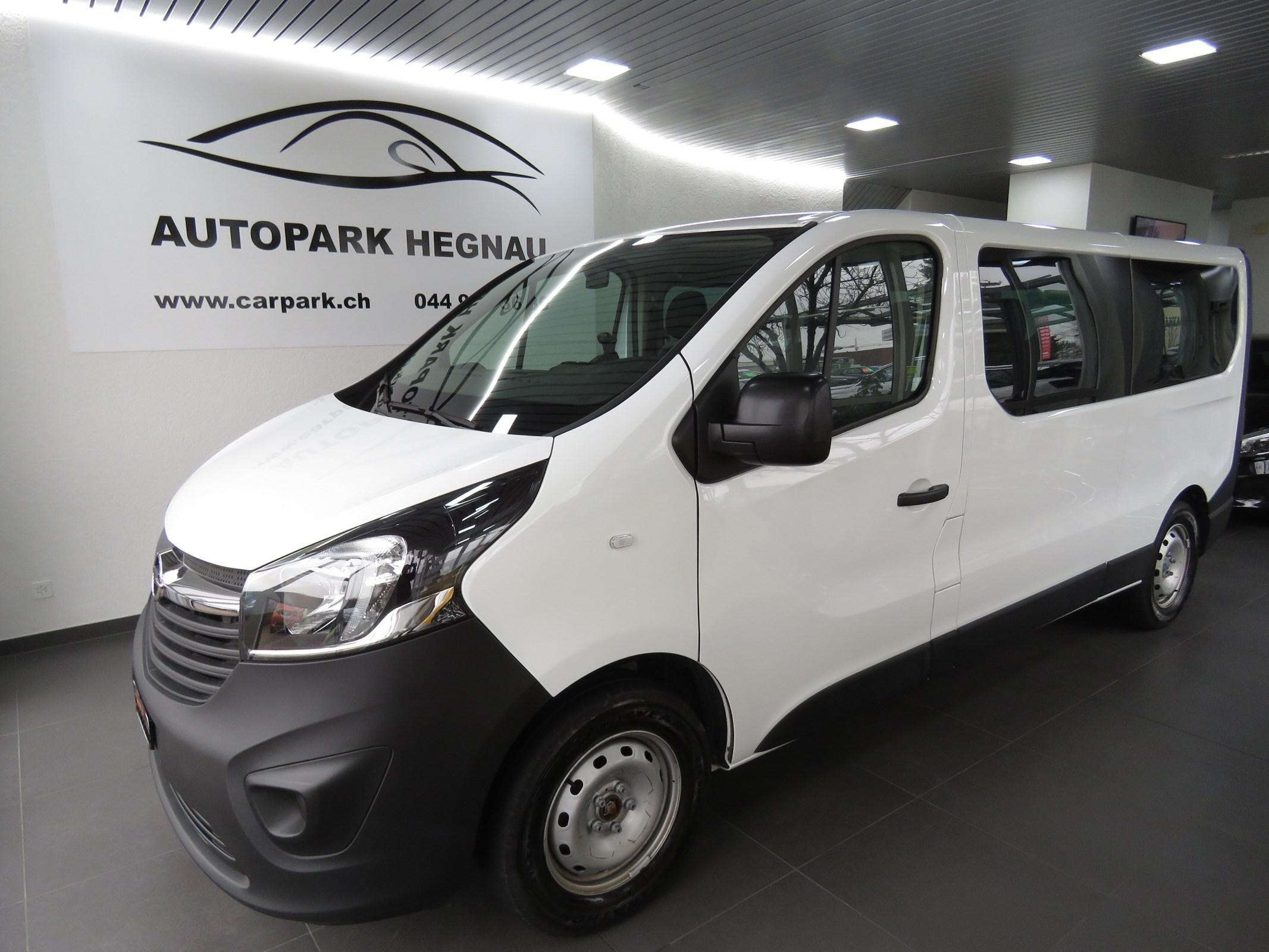 bus Opel Vivaro 1.6 CDTI 2.9t L2H1 (9-Plätzer, AHK 2.0 t, NL 943 kg)