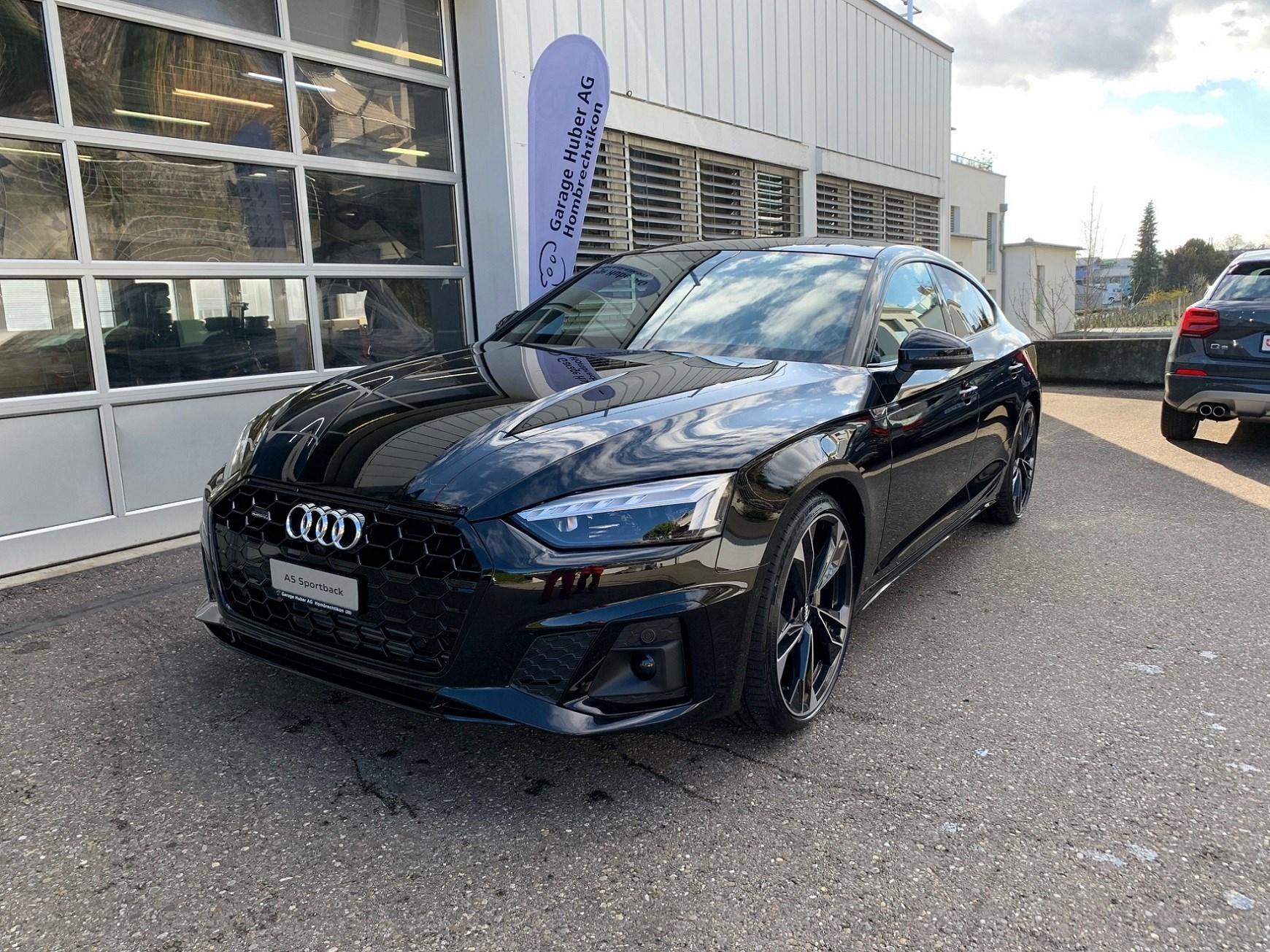 Buy New Car Sedan Audi A5 Sportback 45 Tfsi S Tronic Quattro 11 Km At 79800 Chf On Carforyou Ch