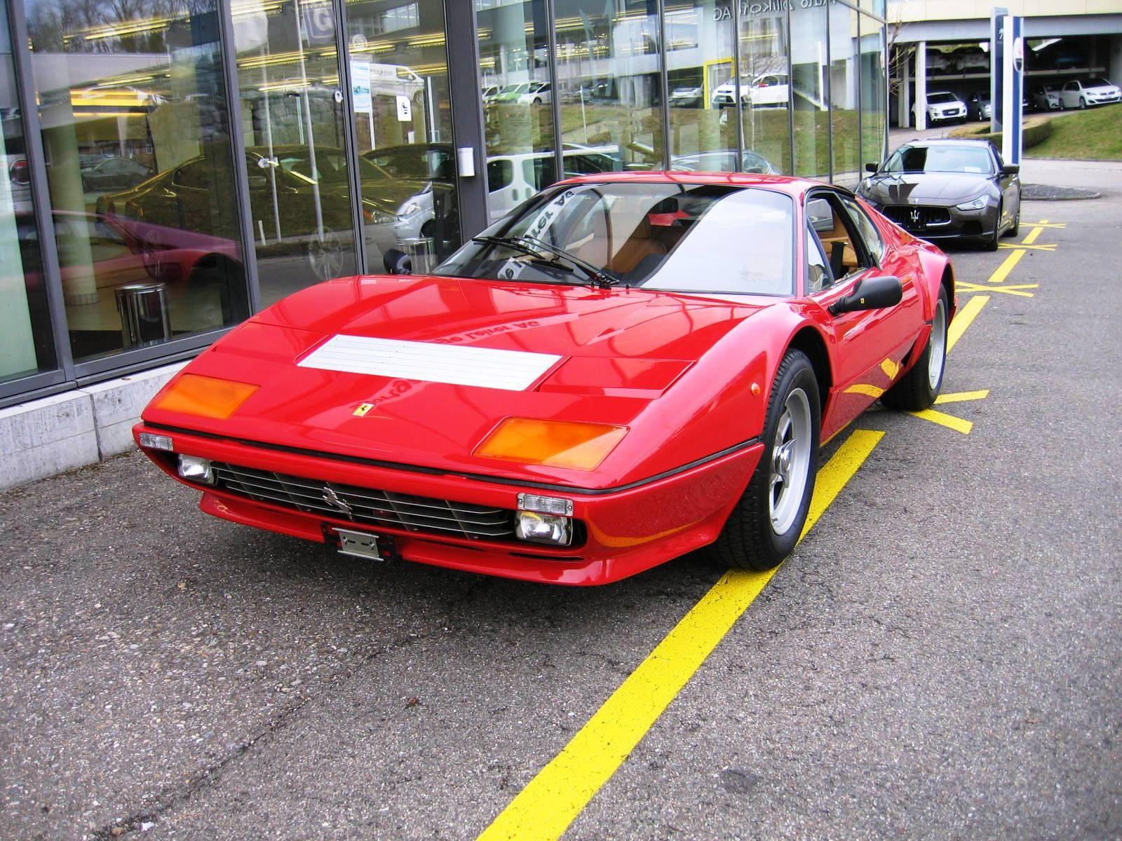 sportscar Ferrari 512 BB BBi