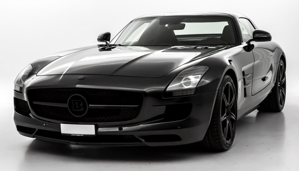 coupe Mercedes-Benz SLS 63 AMG Speedshift BRABUS B63 S