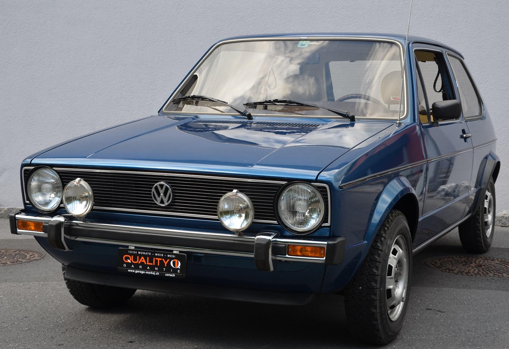 saloon VW Golf 1500 GL (GLS)