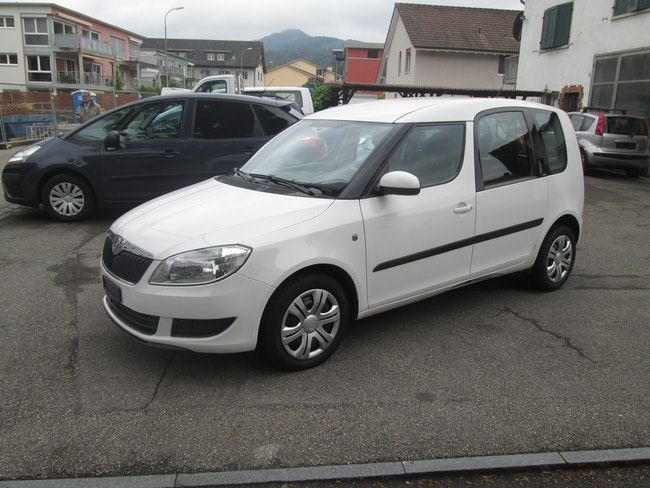 van Skoda Roomster 1.2 TSI Magic DSG