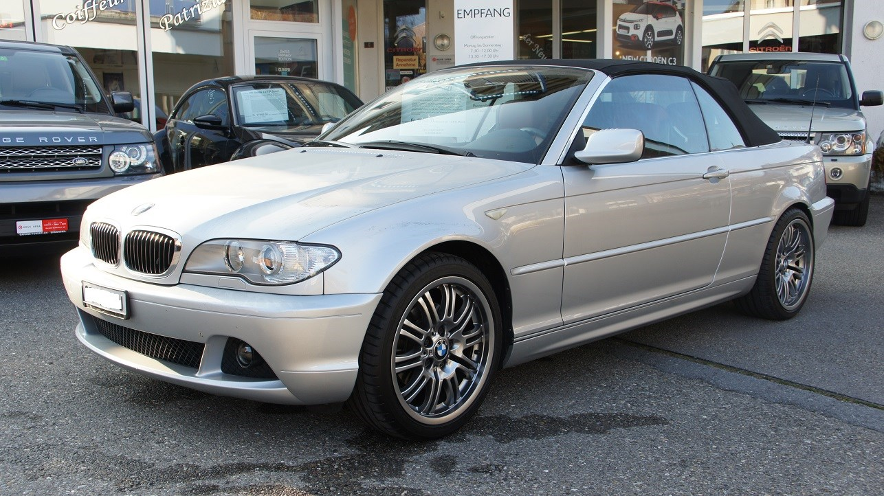 cabriolet BMW 3er 320Ci Cabriolet
