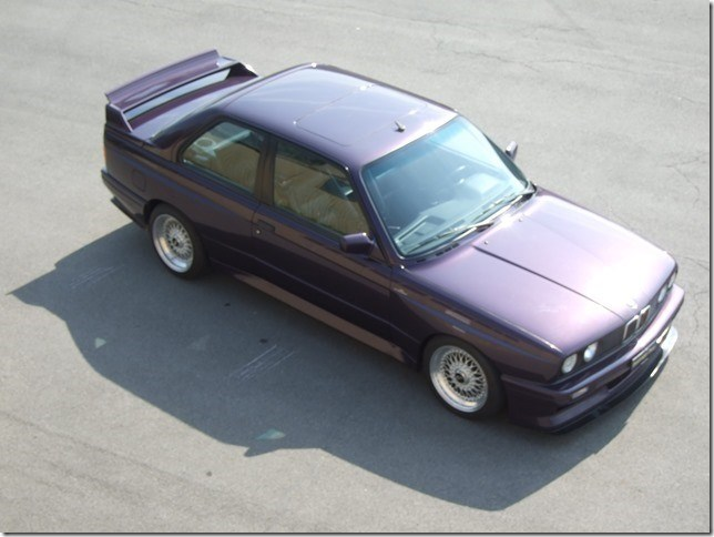 coupe BMW 3er M3 E30 Schnitzer