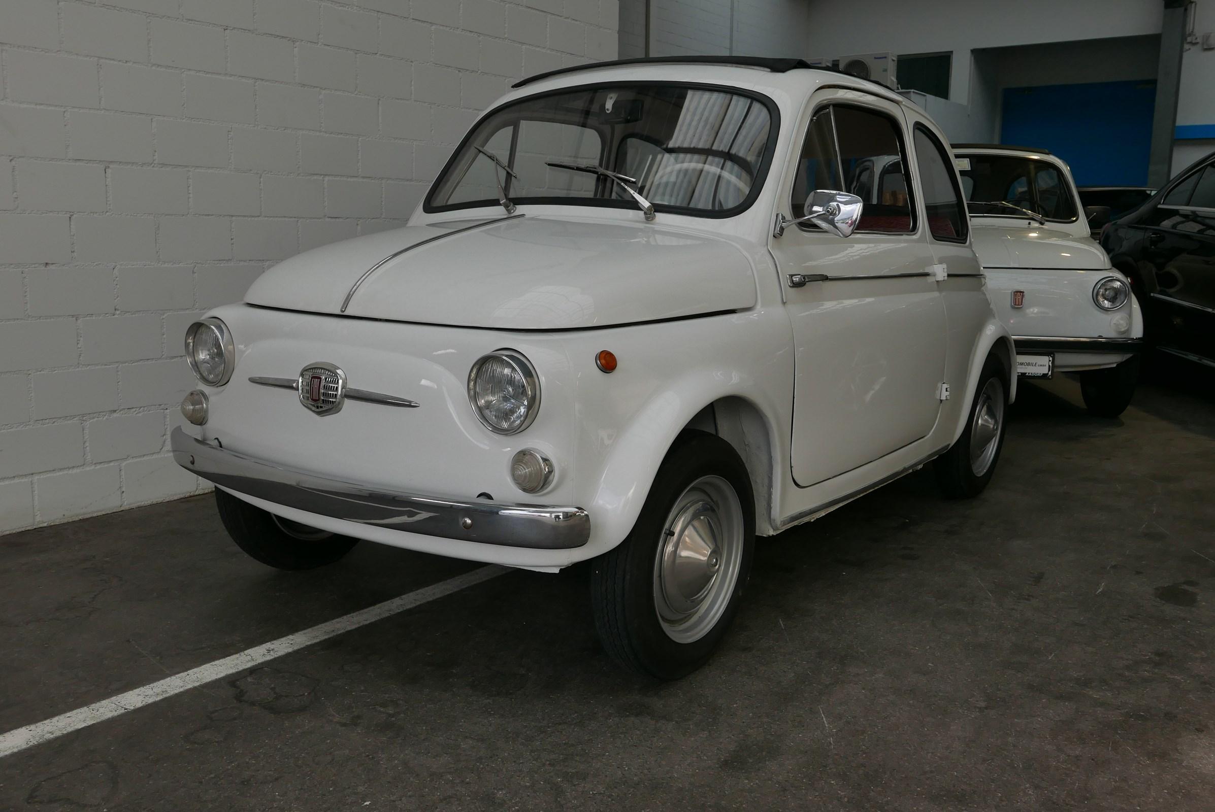 cabriolet Fiat 500 Transformabile Mördertüren