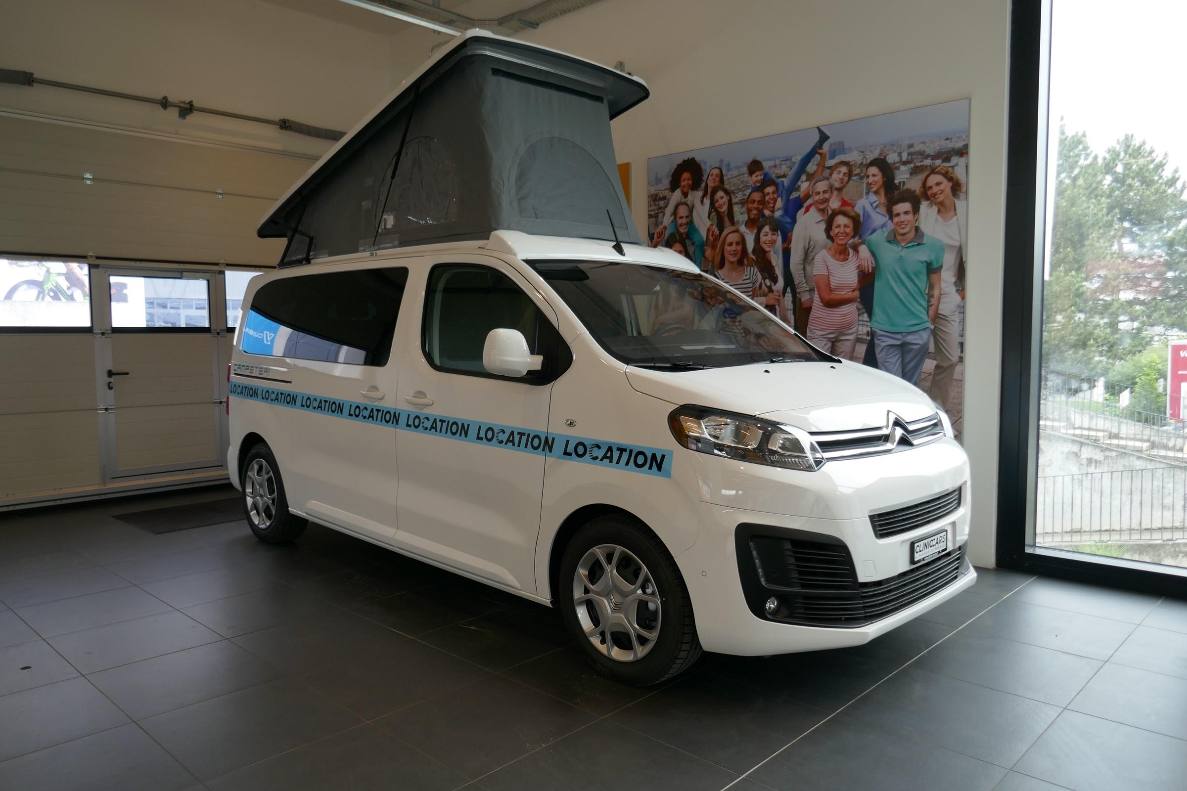 bus Citroën Spacetourer 2.0 BlueHDI S&S 150 BVM Pössl