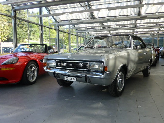 coupe Opel Commodore A 2500