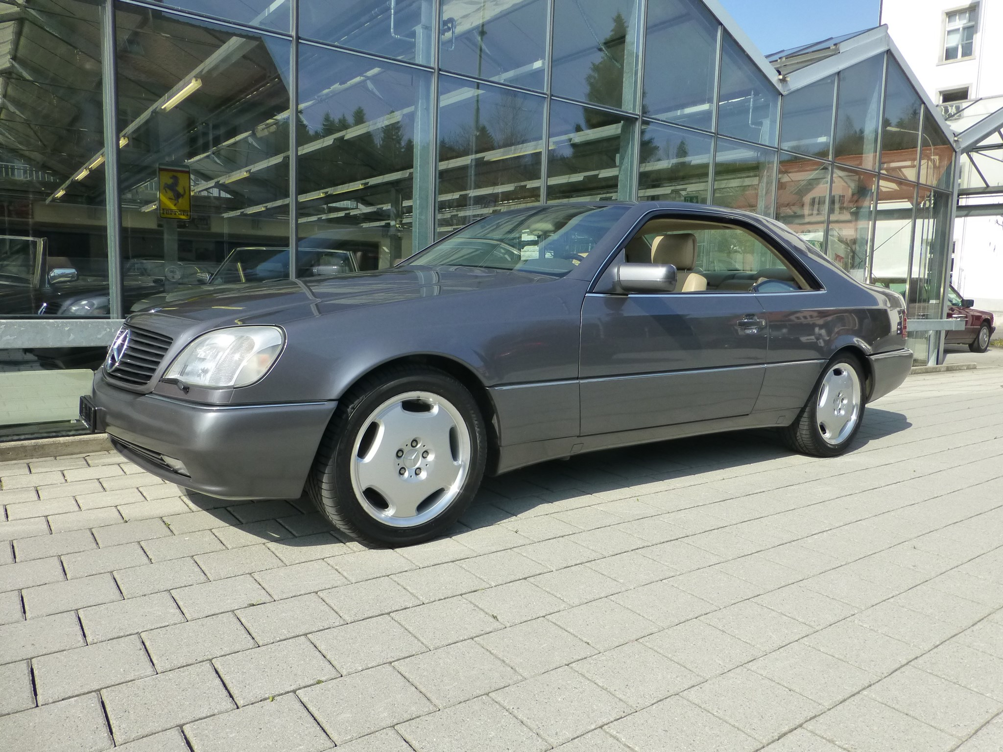 coupe Mercedes-Benz CL 500 CL (S) 500 Automatic