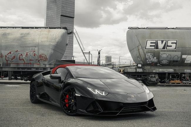 sportscar Lamborghini Huracan EVO Spyder DCT