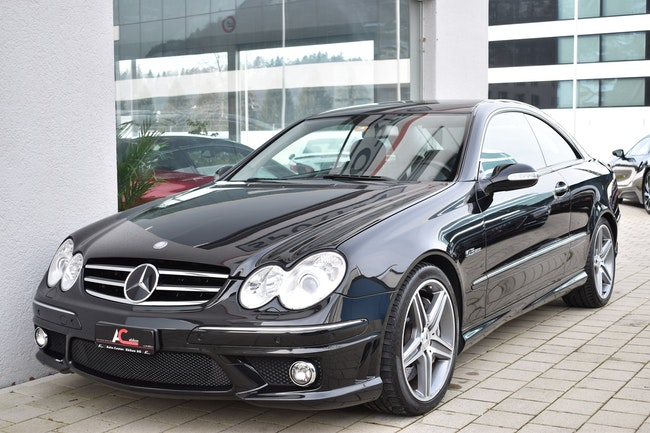 coupe Mercedes-Benz CLK 63 AMG Avantgarde 7G-Tronic