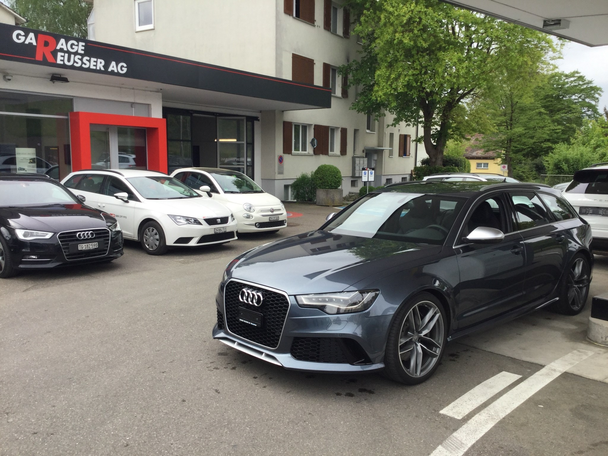 estate Audi S6 / RS6 RS6 AVANT 4.0 TFSI V8 QUATTRO TIPTRONIC 560 PS