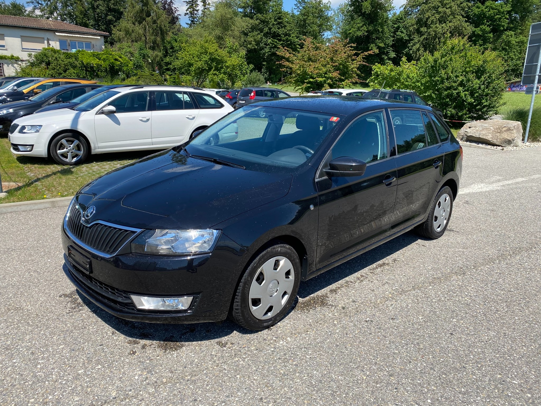 estate Skoda Rapid Spaceback 1.4 TSI Ambition DSG
