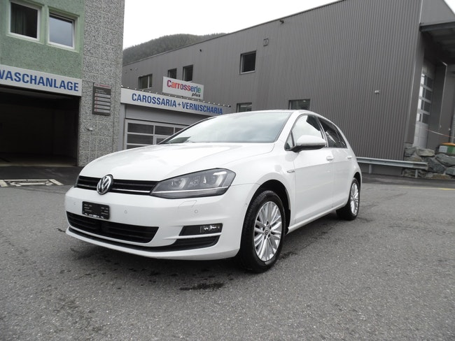 saloon VW Golf 1.6 TDI Cup 4Motion